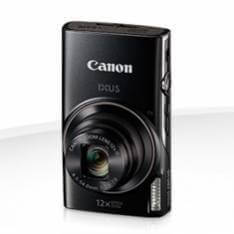 "Cámara digital canon ixus 285 hs negra 20.2mp zoom 24x zo 12x 3"" litio videos HD modo eco"