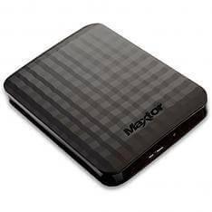 "Disco duro externo HDD maxtor m3 stshx-m500tcbm 500GB 2.5"" USB 3.0 negro mate"