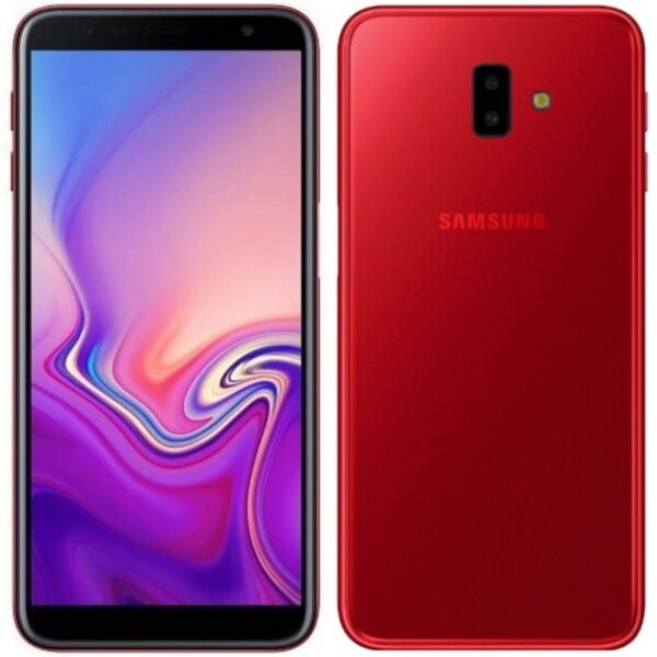 Samsung Galaxy J6 Plus rojo