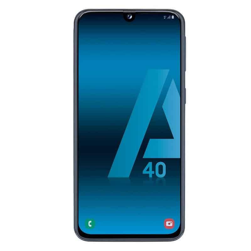 868d631287c Samsung Galaxy A40 4/64GB Azul - Tecnomari - Venta de electrónica: móviles  libres, ordenadores, TV, ¡y mucho más!