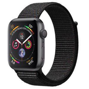 Apple Watch Series 4 16GB 44mm Gris Espacial con Correa Loop Negra