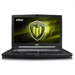 MSI WT75 9SL-097ES I7-9700K, 17.3″ UHD 4K, QUADRO P4200 8GB 64GB, 1TB SSD