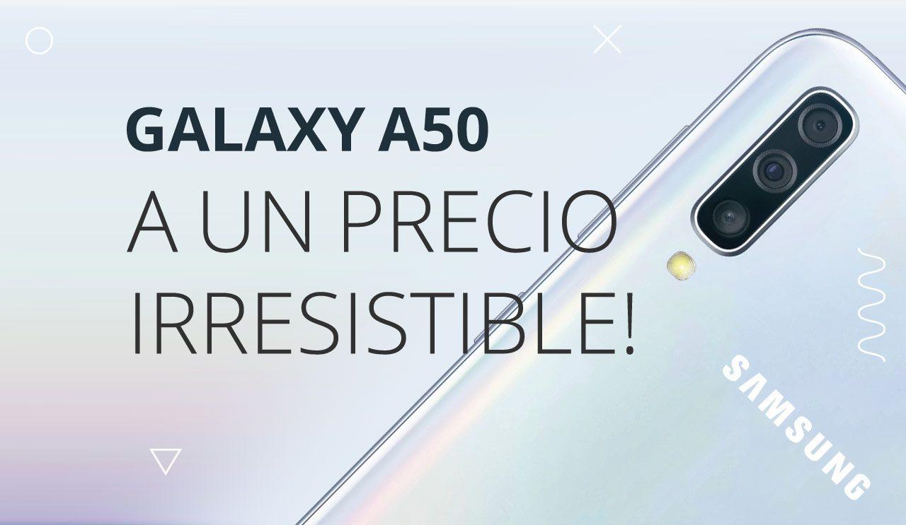 Oferta Black Friday Móvil Samsung Galaxy A50 libre
