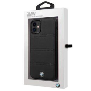 Carcasa iPhone 11 Licencia BMW Piel Negro
