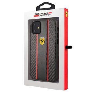 Carcasa iPhone 11 Licencia Ferrari Negro