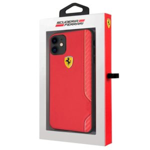 Carcasa iPhone 11 Licencia Ferrari Rojo