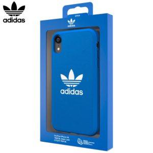 Carcasa iPhone XR Licencia Adidas Logo Azul