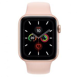 Apple Watch Series 5 GPS 40mm Aluminio Dorado con Correa Deportiva Rosa Arena