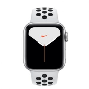 Apple Watch Nike Series 5 GPS + Cellular 40mm Aluminio Gris con Correa Deportiva Pure Platinum/Negra