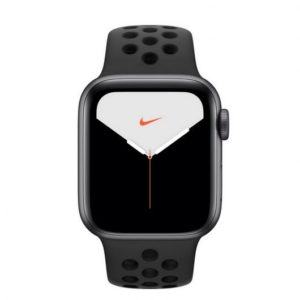 Apple Watch Nike Series 5 GPS + Cellular 44mm Aluminio Gris Espacial con Correa Deportiva Antracita