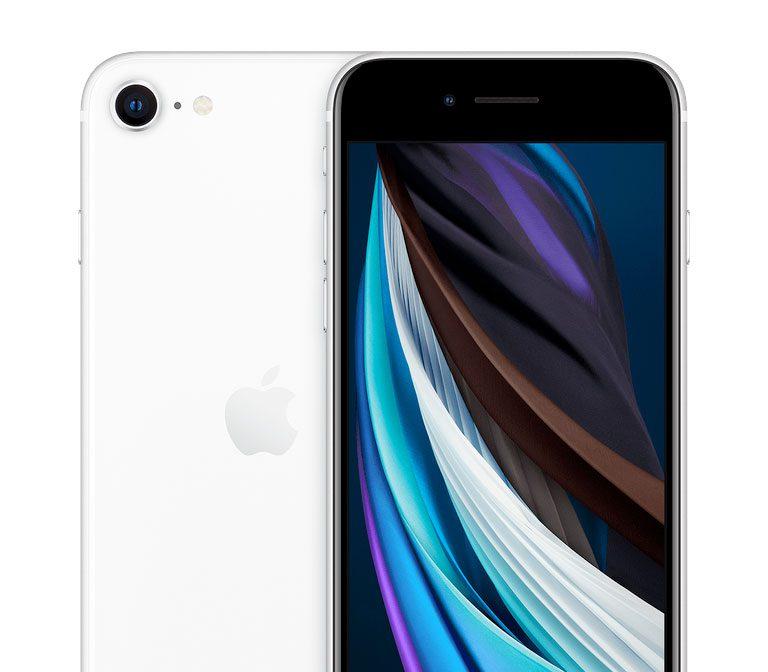 Nuevo iPhone SE white