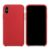 Funda iPhone XS Rojo