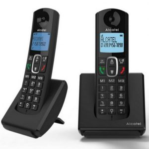 Alcatel DEC F685 Duo Negro
