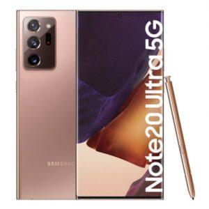 Samsung Galaxy Note 20 Ultra 5G 12/256GB Bronce