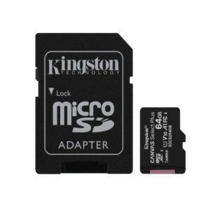Kingston MicroSD 64 GB SDCS2/64GB