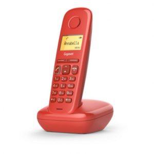 Gigaset A170 Teléfono Dect Rojo