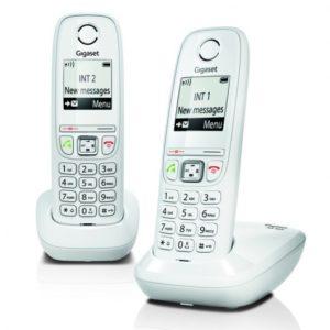 Gigaset AS405 Teléfono Dect Duo Blanco