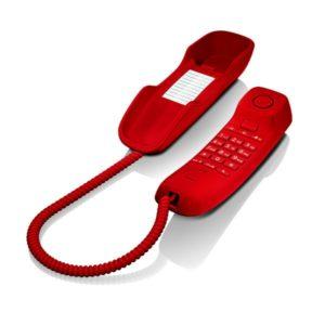 Gigaset DA210 Teléfono Fijo Rojo