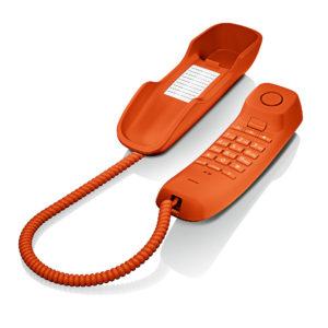 Gigaset DA210 Teléfono Fijo Naranja