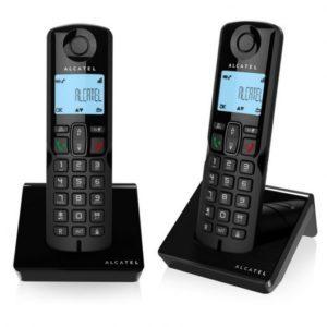 Alcatel DEC S250 Duo Negro