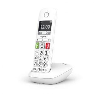 Gigaset E290 Teléfono Inalámbrico Teclas Grandes Blanco
