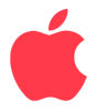 Logo Apple Red