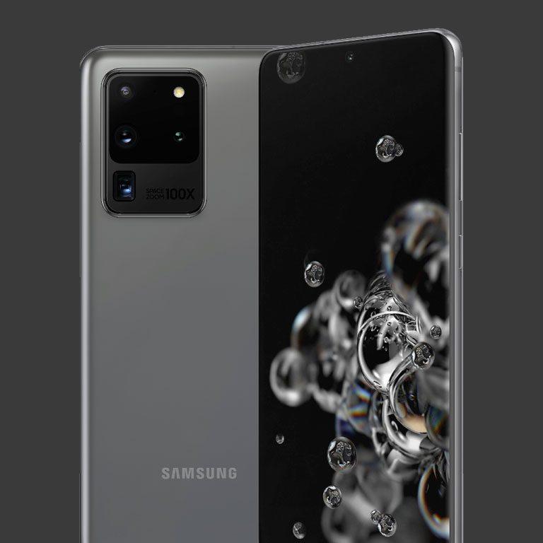 Móviles con gran bateria Galaxy s20 ultra
