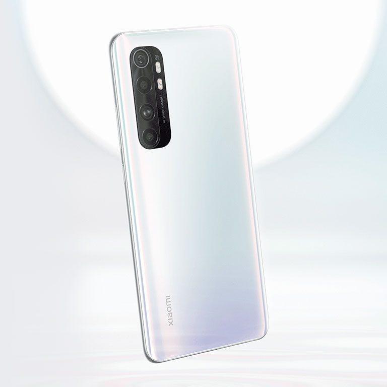 Móviles con gran bateria Xiaomi mi Note 10 Glaciar