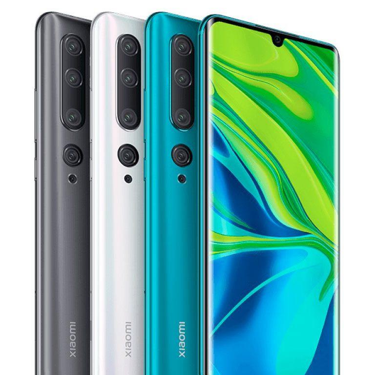 Móviles con gran bateria Xiaomi Mi note 10