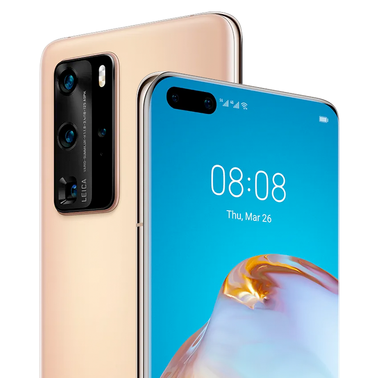 Oferta Móvil 5G Huawei P40 Pro