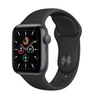 Apple Watch SE GPS 32GB 40mm Gris Espacial/Correa Deportiva Negra