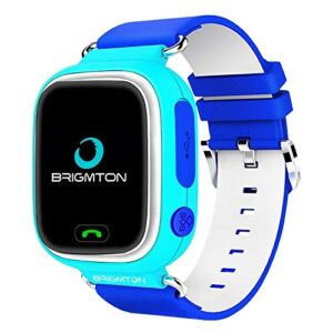 Brigmton Bwatch-Kids Localizador GPS Azul