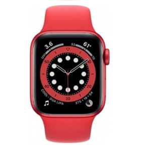 Apple Watch Series 6 GPS+Cellular 40mm Caja de aluminio Rojo