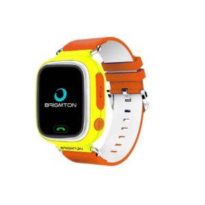 Brigmton Bwatch-Kids Localizador GPS Naranja
