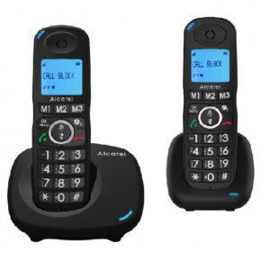 Alcatel DEC XL535 Duo Negro