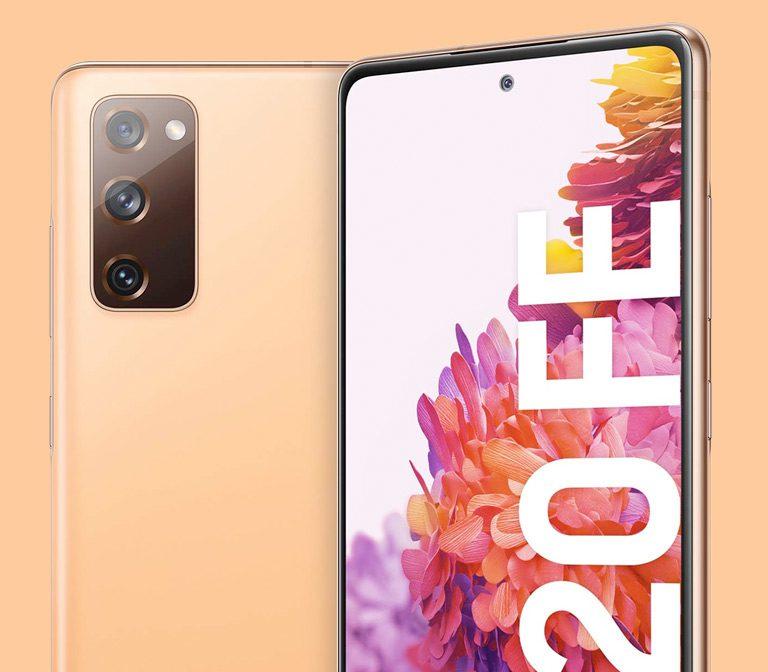 Oferta Samsung Galaxy S20 FE Naranja