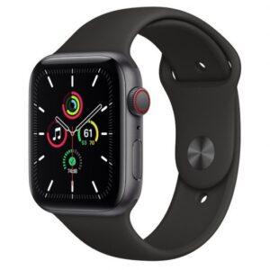 Apple Watch SE GPS + Cellular 44mm Aluminio Gris Espacial/Correa Sport Negra