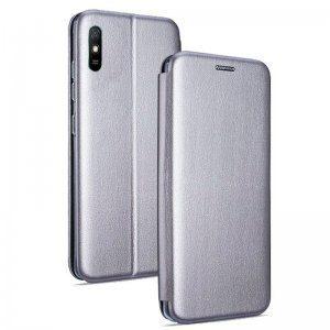 Funda Flip Cover Xiaomi Redmi 9A / 9AT Elegance Plata