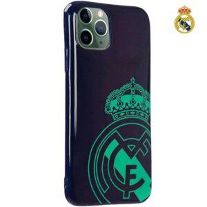 Carcasa IPhone 11 Pro Max Licencia Fútbol Real Madrid Marino