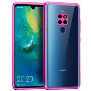 Carcasa Huawei Mate 20 Borde Metalizado (Rosa)