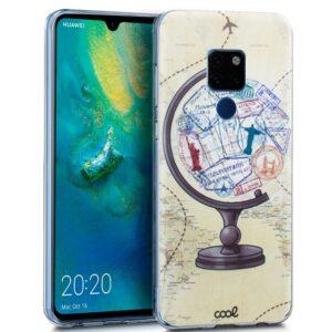 Carcasa Huawei Mate 20 Dibujos Mundo
