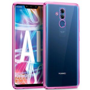 Carcasa Huawei Mate 20 Lite Borde Metalizado (Rosa)