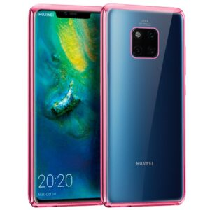 Carcasa Huawei Mate 20 Pro Borde Metalizado (Rosa)