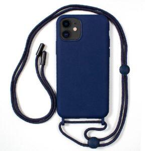 Carcasa IPhone 11 Cordón Liso Azul