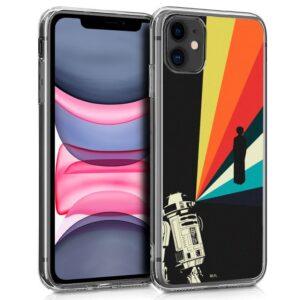 Carcasa IPhone 11 Licencia Star Wars R2D2