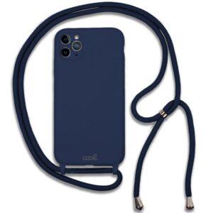 Carcasa IPhone 11 Pro Cordón Liso Marino