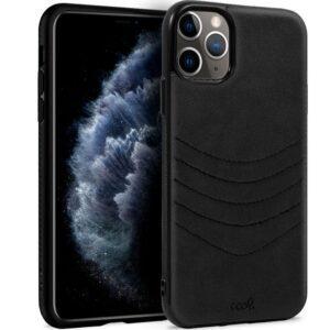 Carcasa IPhone 11 Pro Leather Bordado Negro