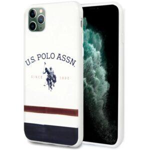 Carcasa IPhone 11 Pro Max Licencia Polo Ralph Lauren Blanco
