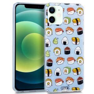 Carcasa IPhone 12 / 12 Pro Dibujos Sushi