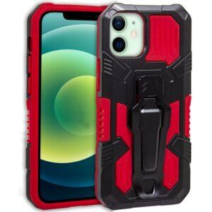 Carcasa IPhone 12 / 12 Pro Hard Clip Rojo